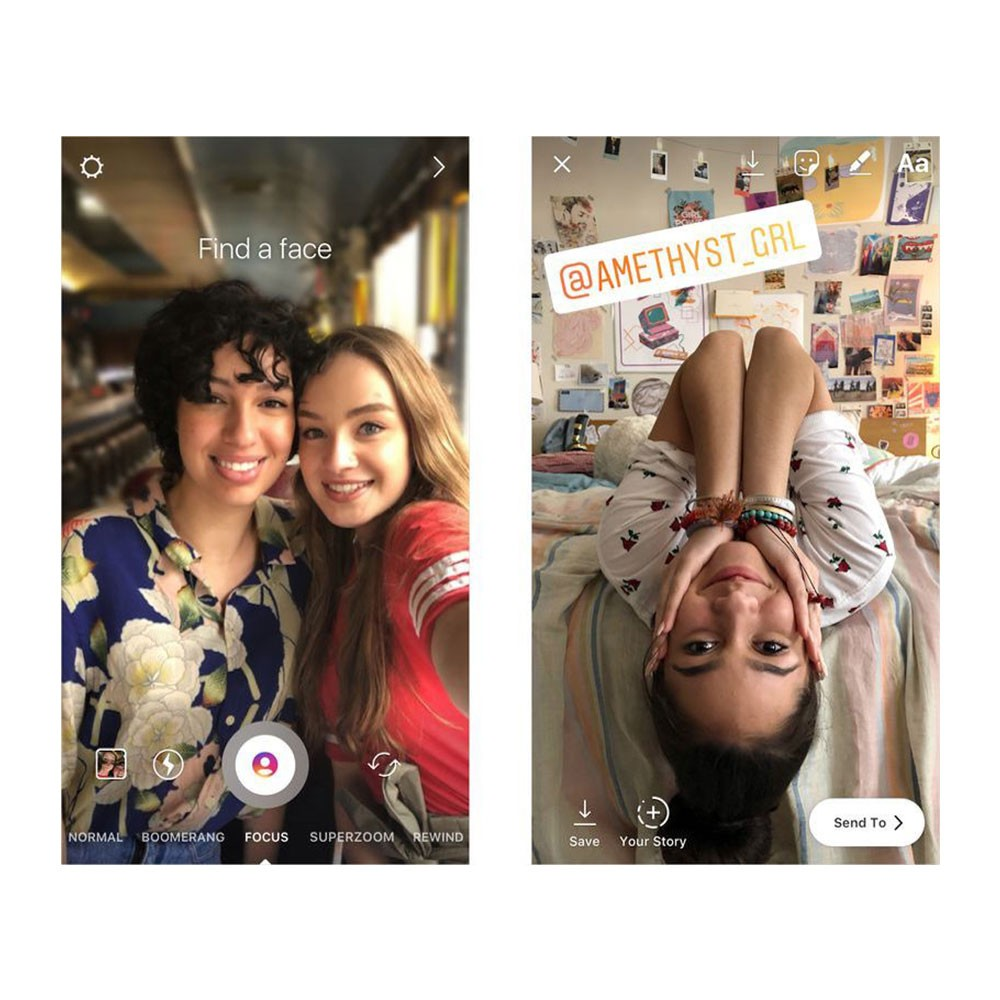 Instagram Stories'e Focus Özelliği Geldi!