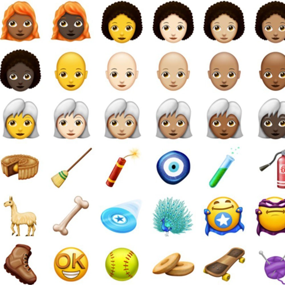 Yeni Emojiler Geliyor!