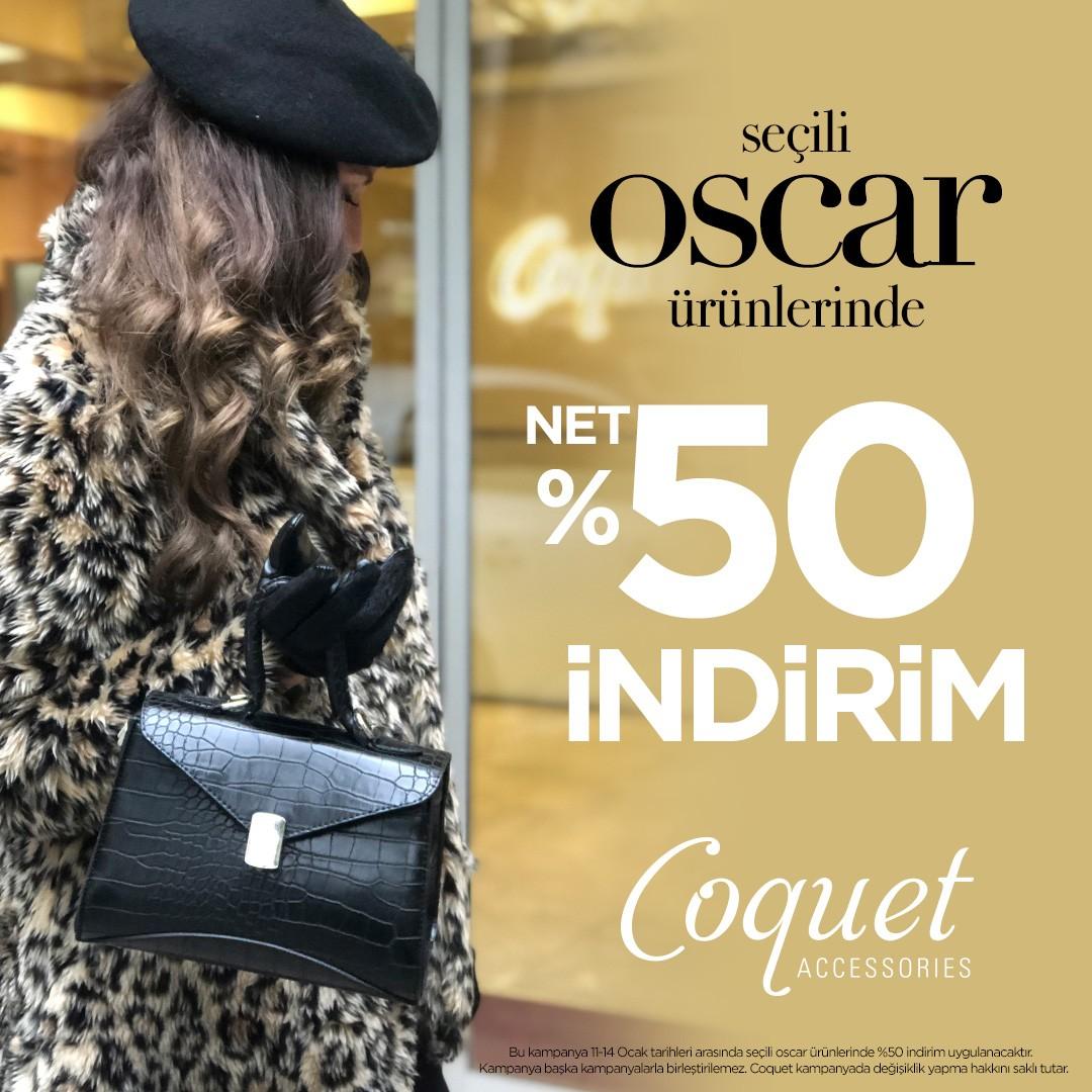 14 Ocak Pazartesi gününe kadar #AntalyaMigros AVM Coquet'te seçili oscar ürünlerinde net %50 indirim fırsatı, kaçırmayın!