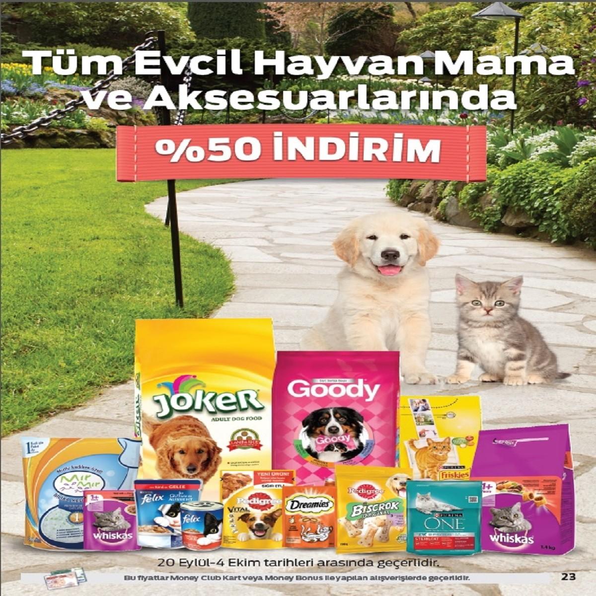 20 Eylül - 4 Ekim tarihleri arasında minik dostlarımıza #AntalyaMigros AVM Migros Hipermarket'ten harika bir indirim var! <3