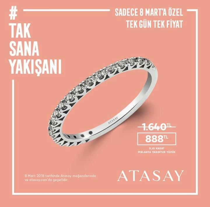 8 Mart #DünyaKadınlarGünü'ne özel #AntalyaMigros AVM Atasay fırsatlarını kaçırmayın! #TakSanaYakışanı!