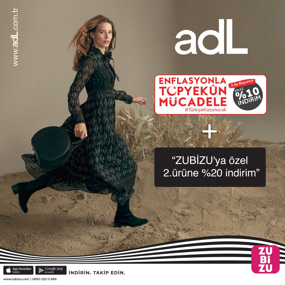 adL'de %10 indirime ek, Zubiyu'ya özel 2. ürüne %20 indirim fırsatını kaçırmayın! Kampanya koşulları ile ilgili detaylı bilgi için #AntalyaMigros AVM adL mağazasını ziyaret edebilirsiniz.
