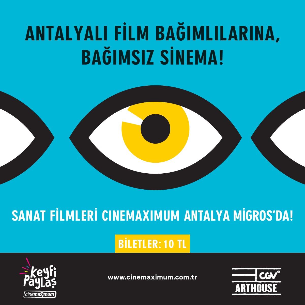 Antalyalı Film Bağımlılarına, Bağımsız Sinema!