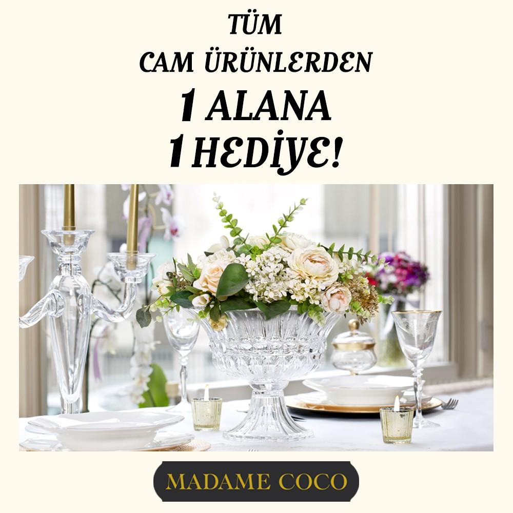 #AntalyaMigros AVM Madame Coco'da tüm cam ürünlerde 1 alana, 1 hediye!