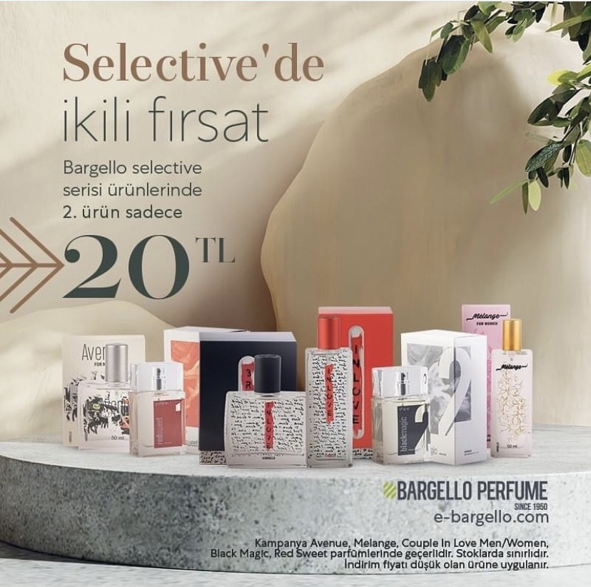 Bargello Selective Serisi Ürünlerde 2. Ürün Sadece 20TL!