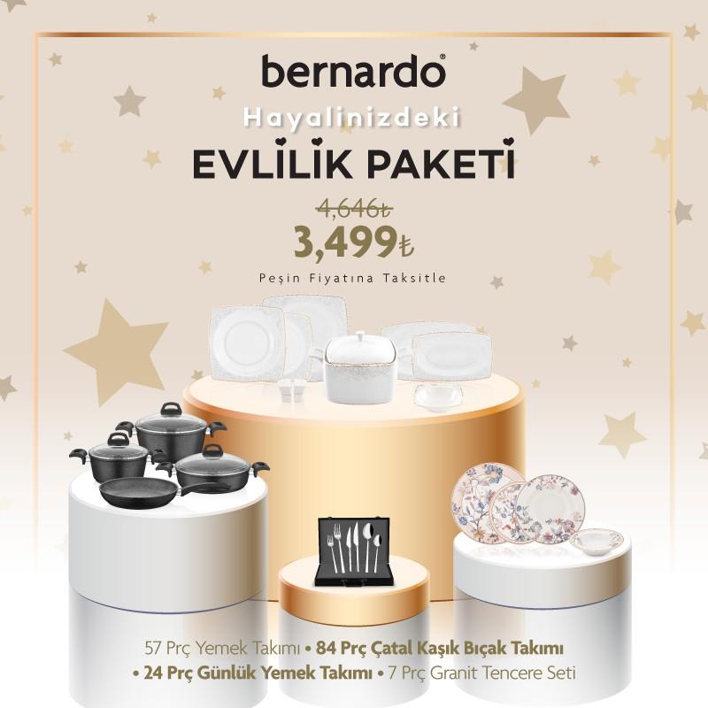 Bernardo'da Evlilik Paketi fırsatı!