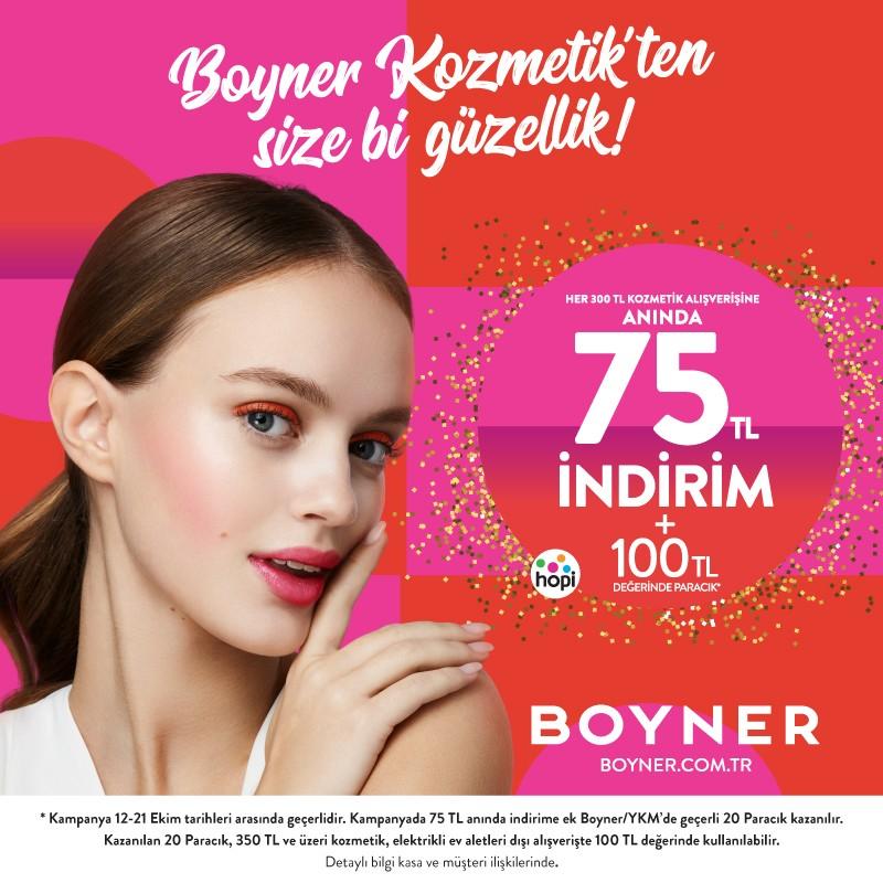 Boyner Kozmetik'ten sana bi' güzellik!