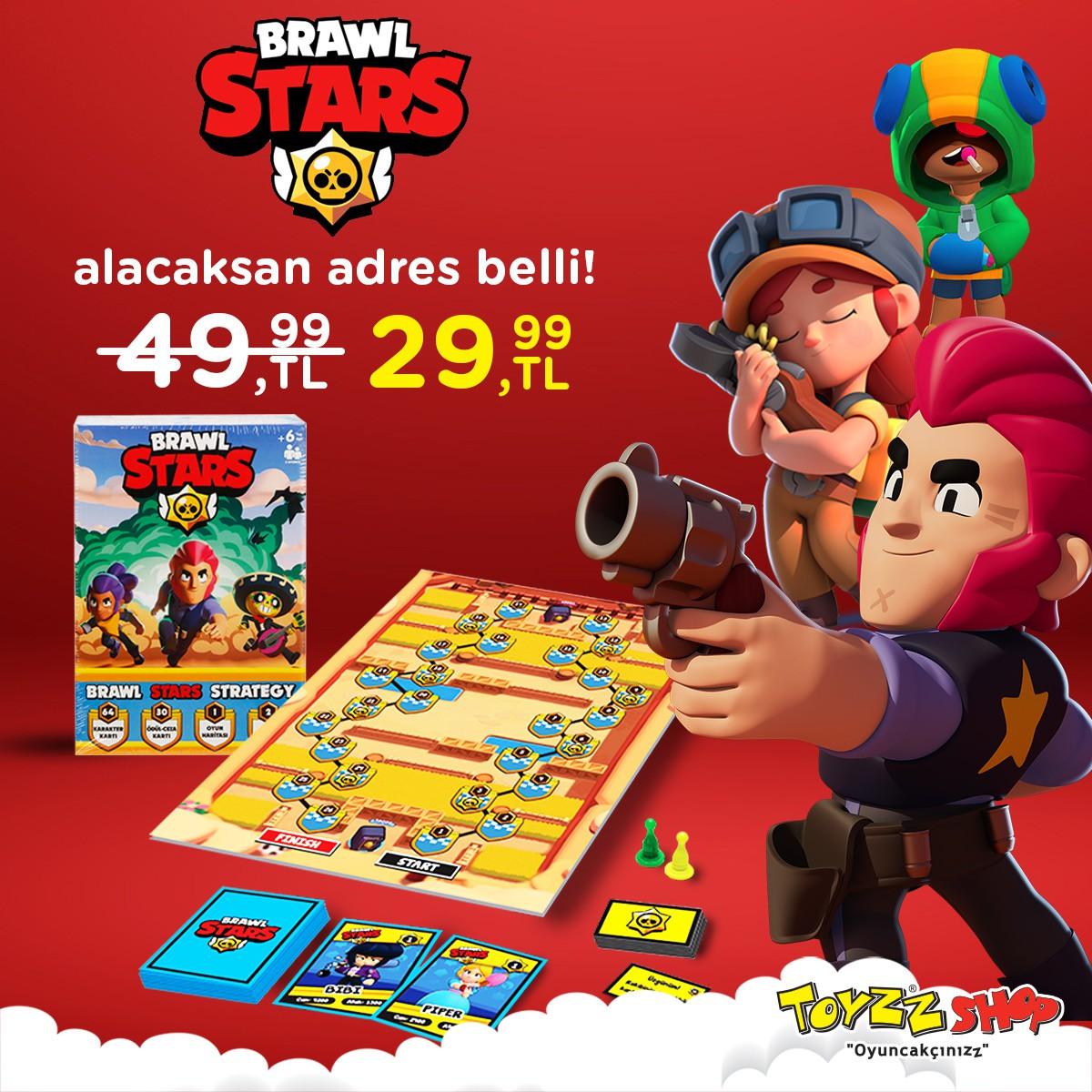 Brawl Stars uygun fiyatıyla Toyzz Shop'da!