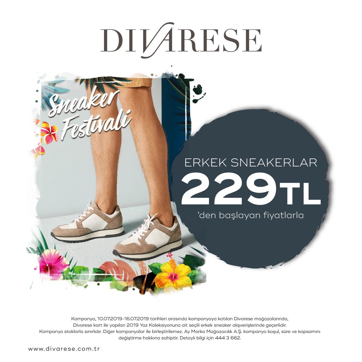 Divarese'de Sneaker Festivali, Kaçırmayın!