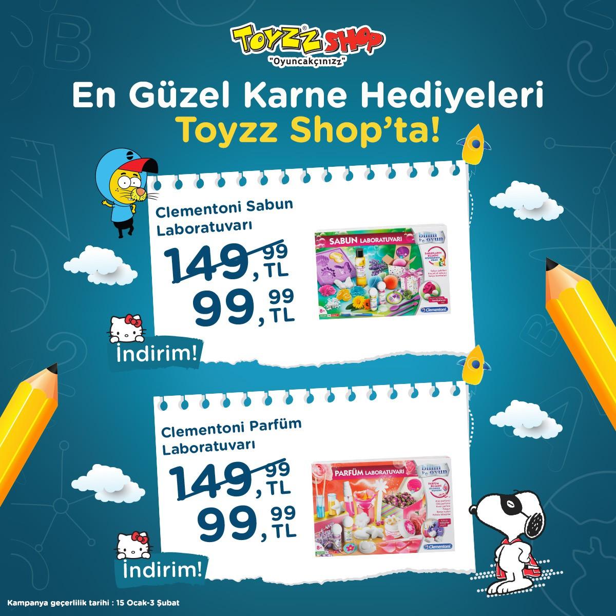 En güzel karne hediyeleri Toyzz Shop'ta!