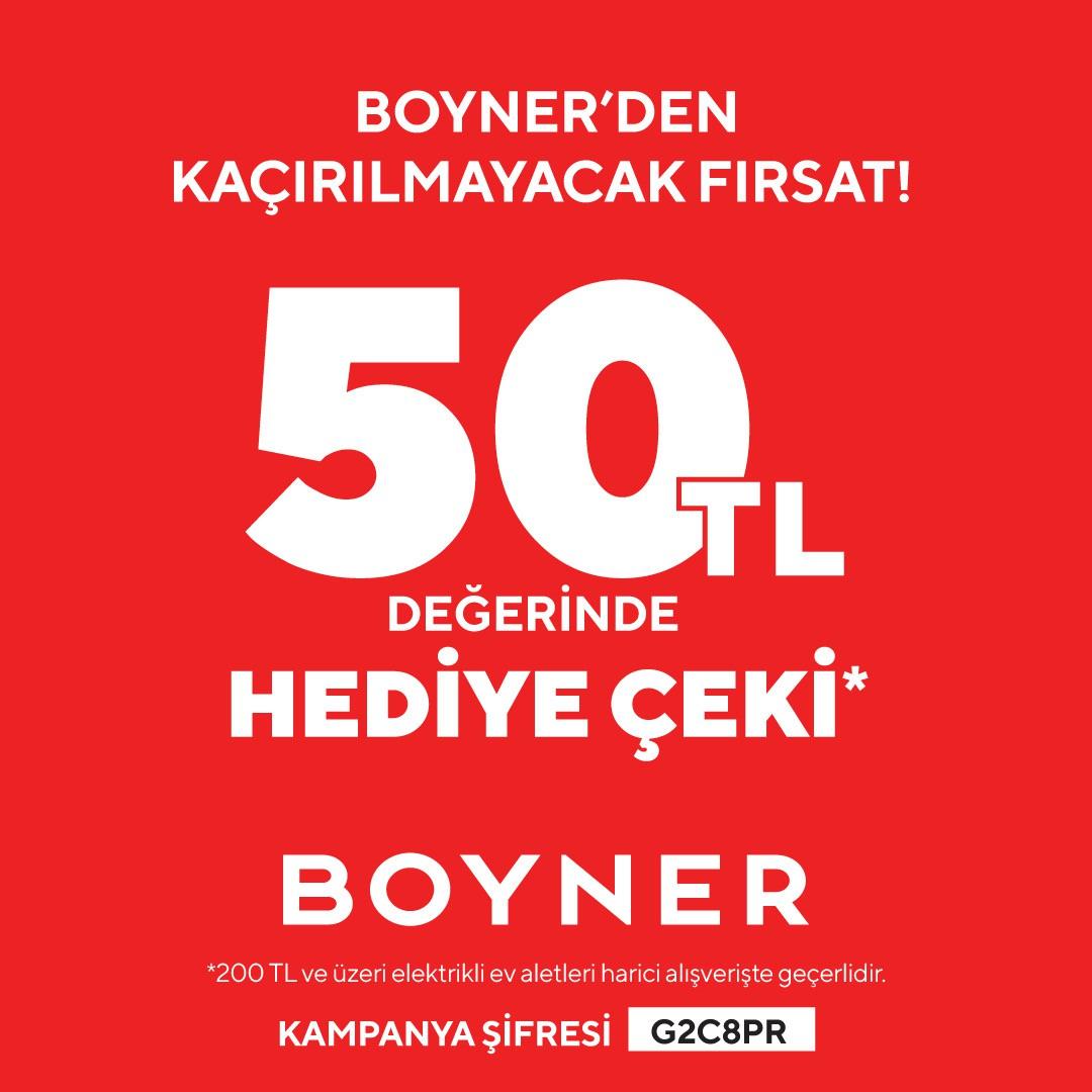 Haydi Antalya Migros AVM'de Boyner'le!
