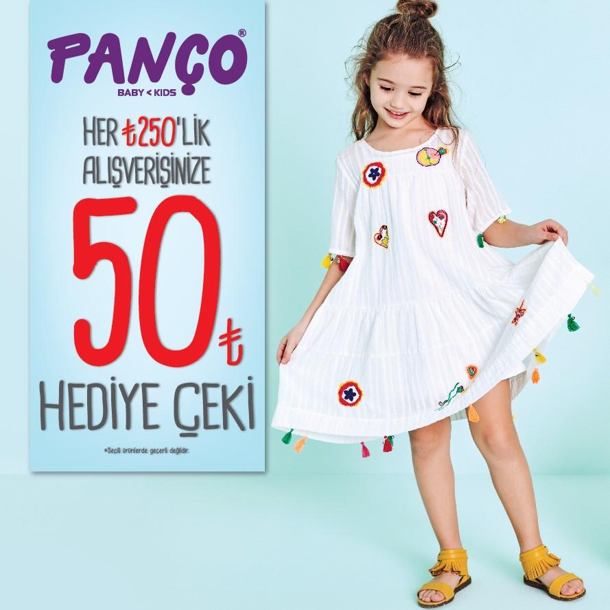 Panço giyen çocuklar hemen kendini belli ediyor! Bu yüzden Panço'dan sizlere özel kampanya var.