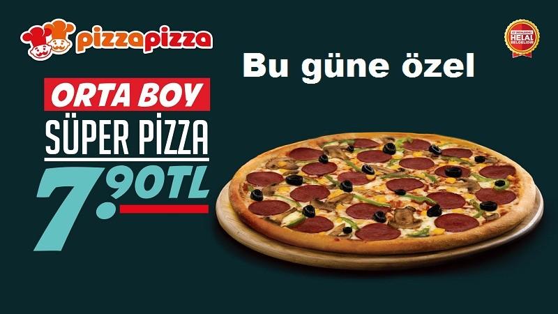 Pizza Pizza'dan Bugüne Özel Kampanya