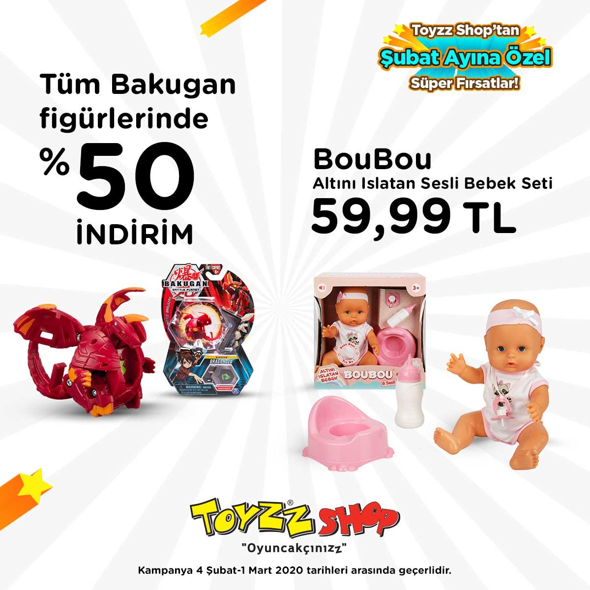 Toyzz Shop fırsatını kaçırmayın!