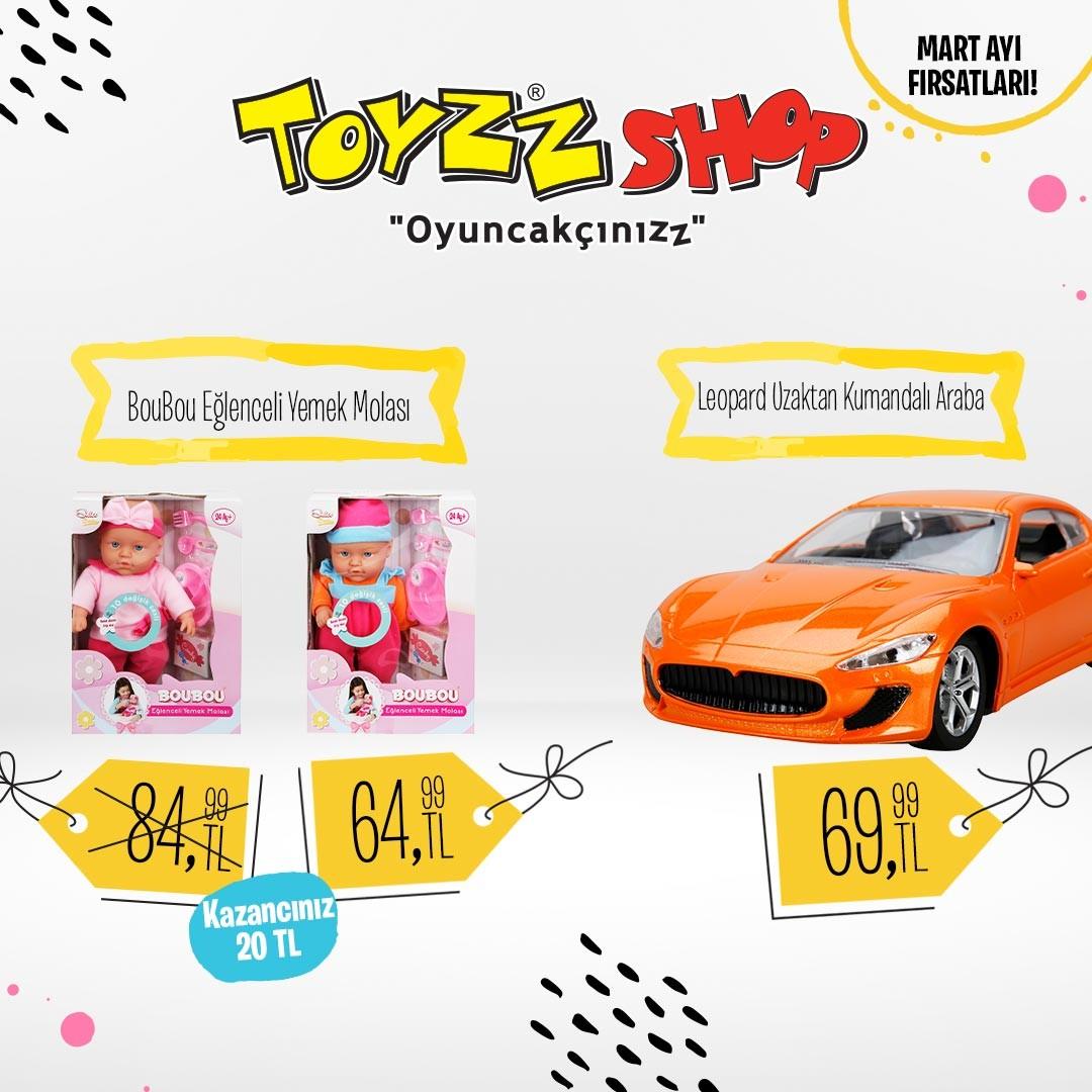 Toyzz Shop indirim fırsatını kaçırmayın.