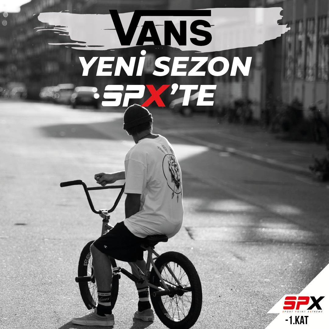 Vans yeni sezon ürünleri SPX'de!