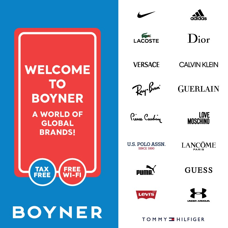 Welcome to Boyner A world of global brands!