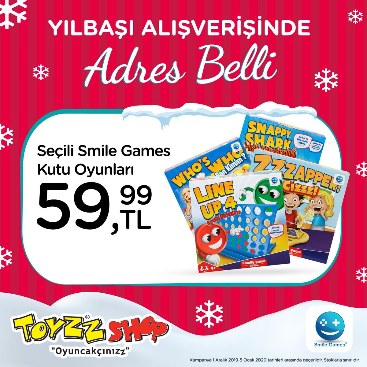 Yılbaşı Alışverişi Toyzz Shop'ta!