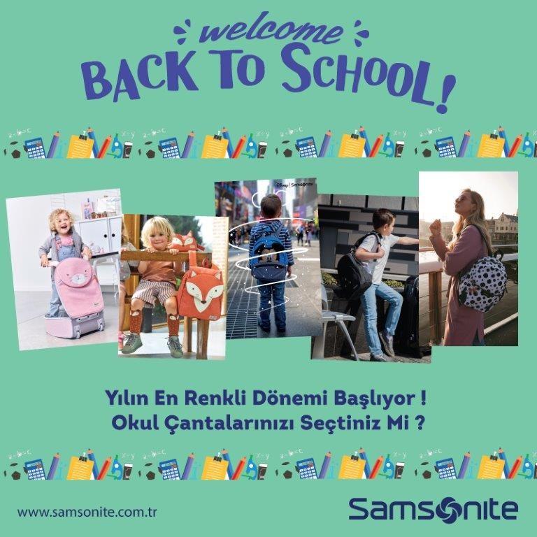 Yılın en renkli dönemi başlıyor!  Okul çantalarınız sizi #AntalyaMigros AVM Samsonite'da bekliyor!