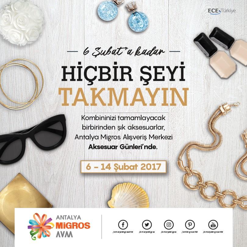 Antalya Migros AVM Aksesuar Günleri başlıyor!