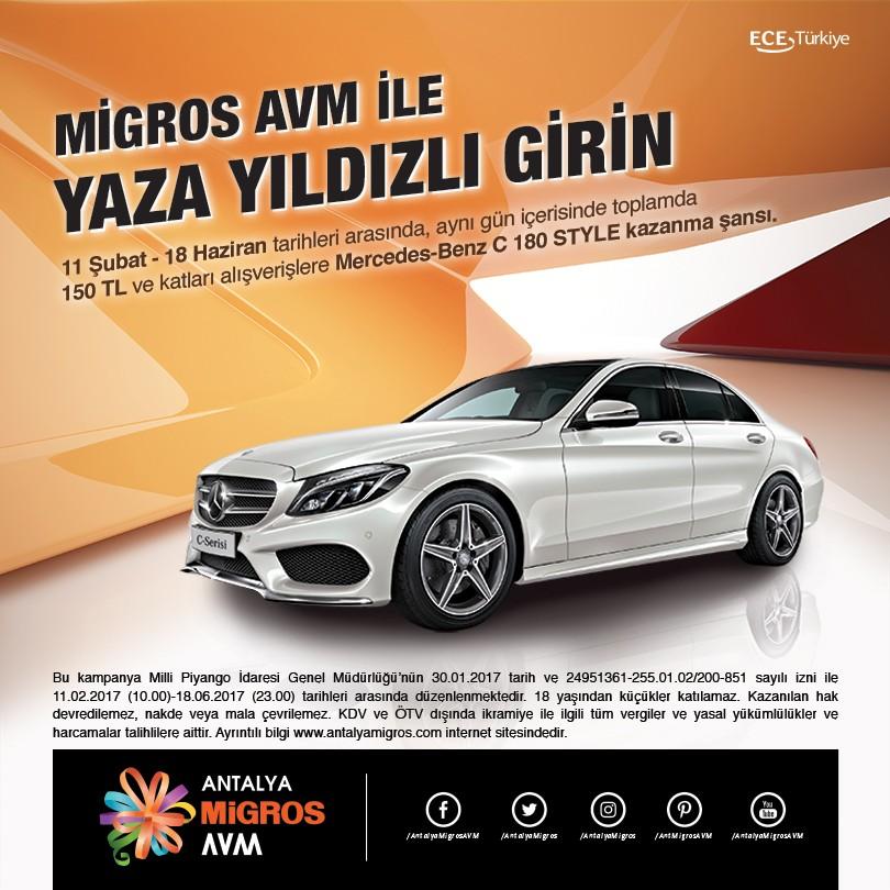 Antalya Migros AVM ile Yaza Yıldızlı Girin!