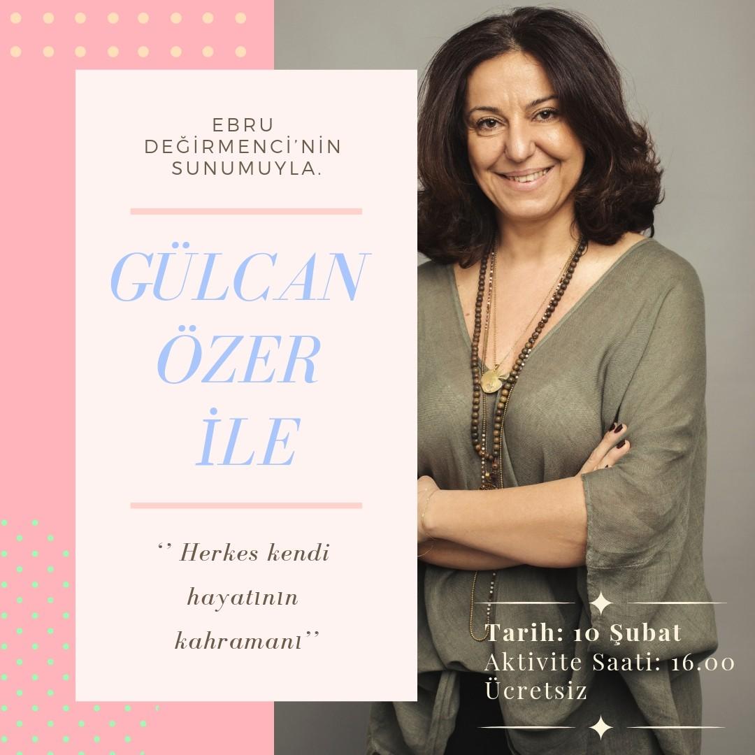 Ebru Değirmenci sunumuyla DR. Gülcan Özer 10 Şubat Pazar günü, saat 16:00'da sizlerle olacak.