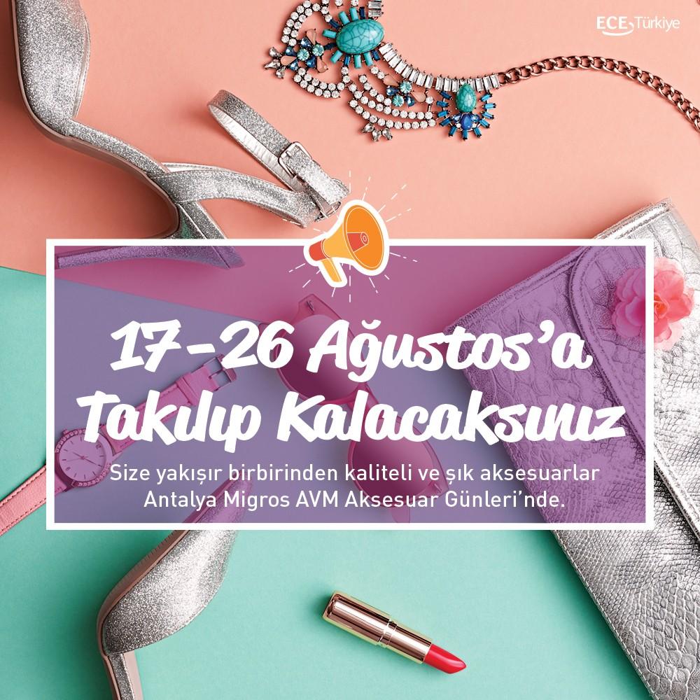 Takılıp kalacaksınız! Kendinize ve sevdiklerinize yakışır birbirinden kaliteli ve şık aksesuarlar #AntalyaMigros AVM #AksesuarGünleri'nde!