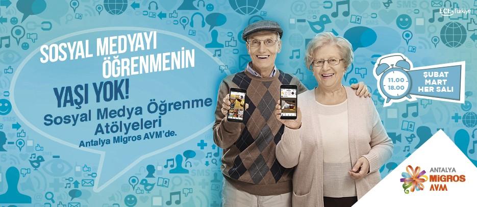 Sosyal Medyayı Öğrenmenin Yaşı Yok!