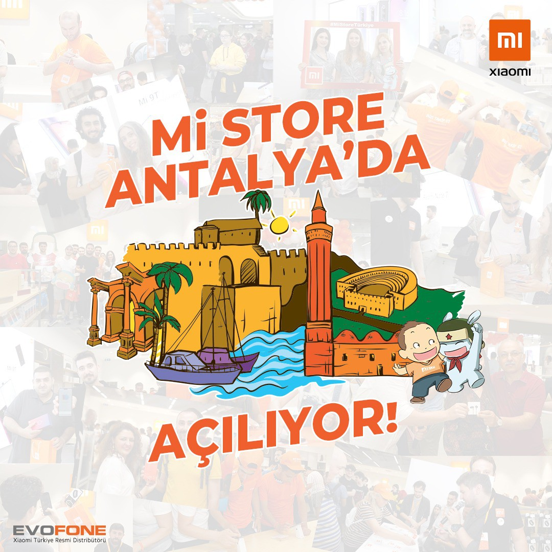 Antalya'nın ilk XIAOMI mağazası #AntalyaMigros AVM'de yarın açılıyor!