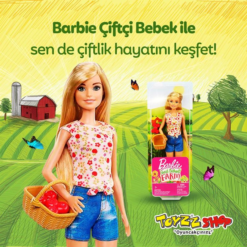 Barbie Çiftçi Bebek İle Sen De Çiftlik Hayatını Keşfet