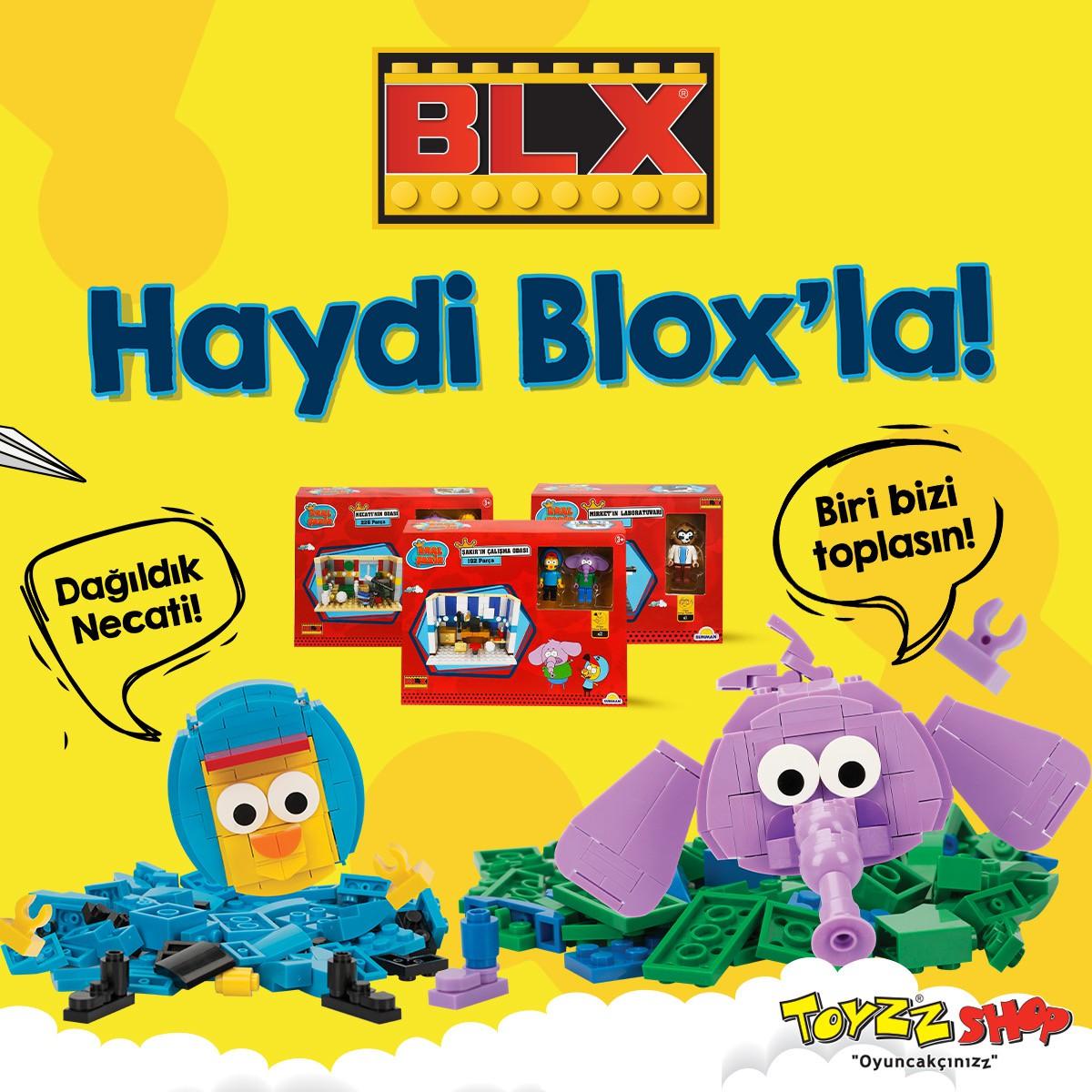 BLX-Kral Şakir Blox ürünleri Toyzz Shop raflarında yerini aldı.