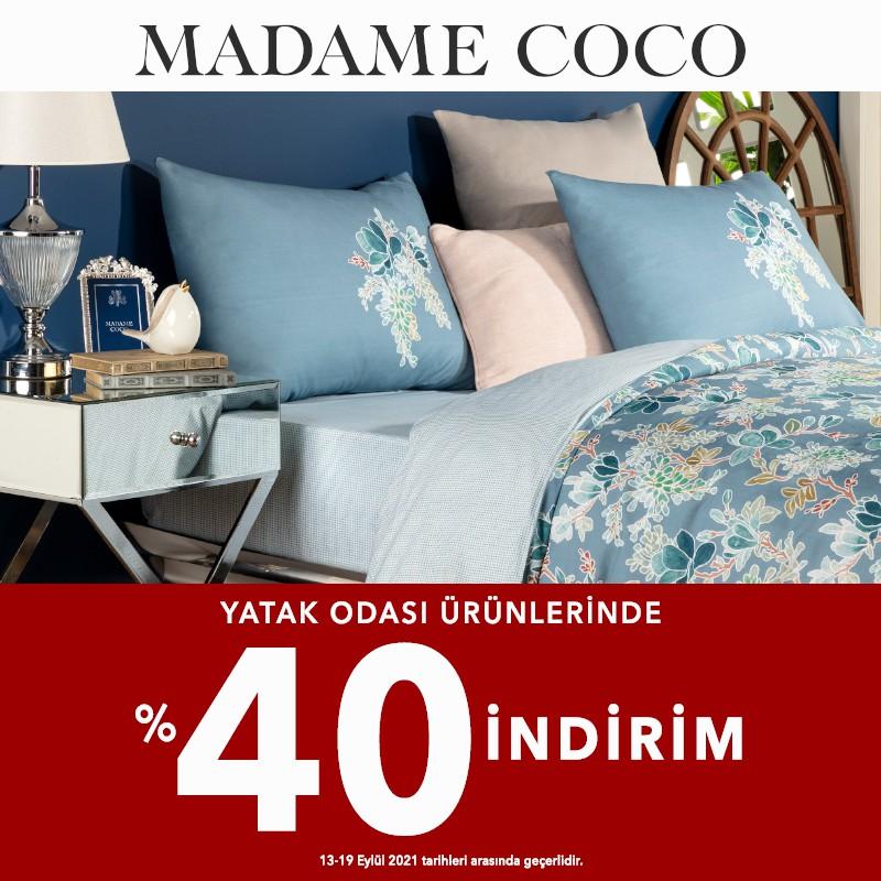 Madame Coco Yatak Odası Ürünlerinde %40 İndirim!