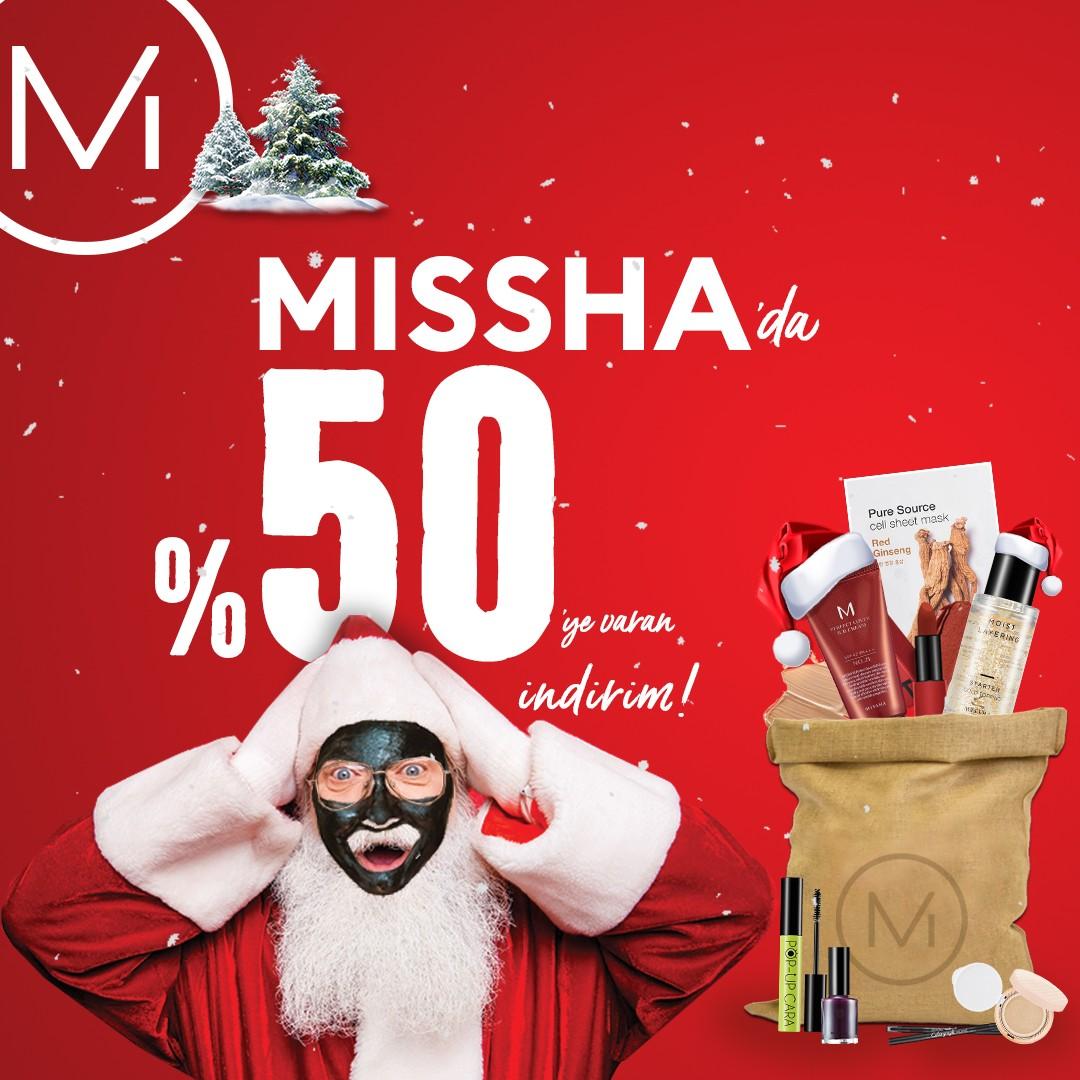 Missha'da %50'ye varan indirim, kaçırmayın!