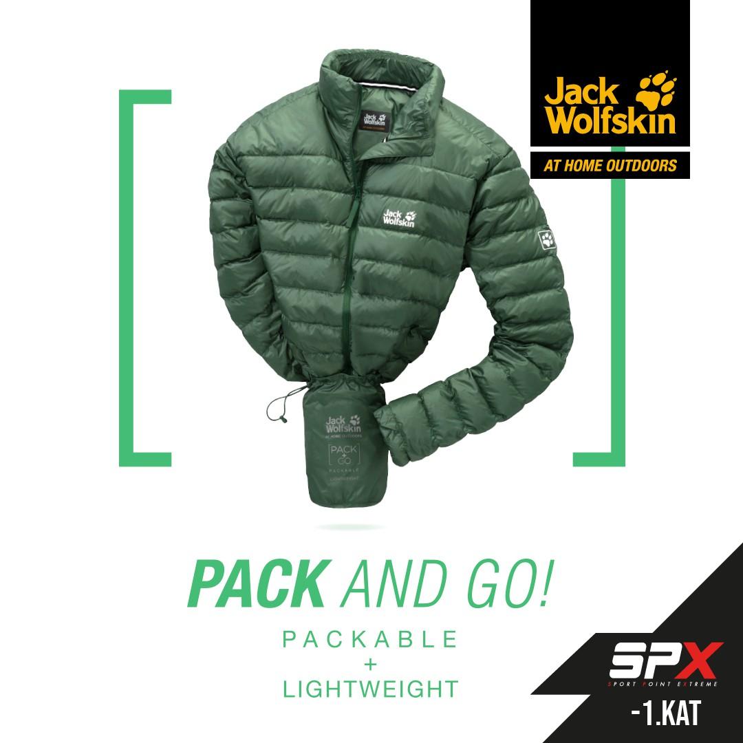 Rahat ve kullanışlı bir monta kim hayır diyebilir ki. SPX mağazasında Jack Wolfskin montunu keşfedebilirsiniz.