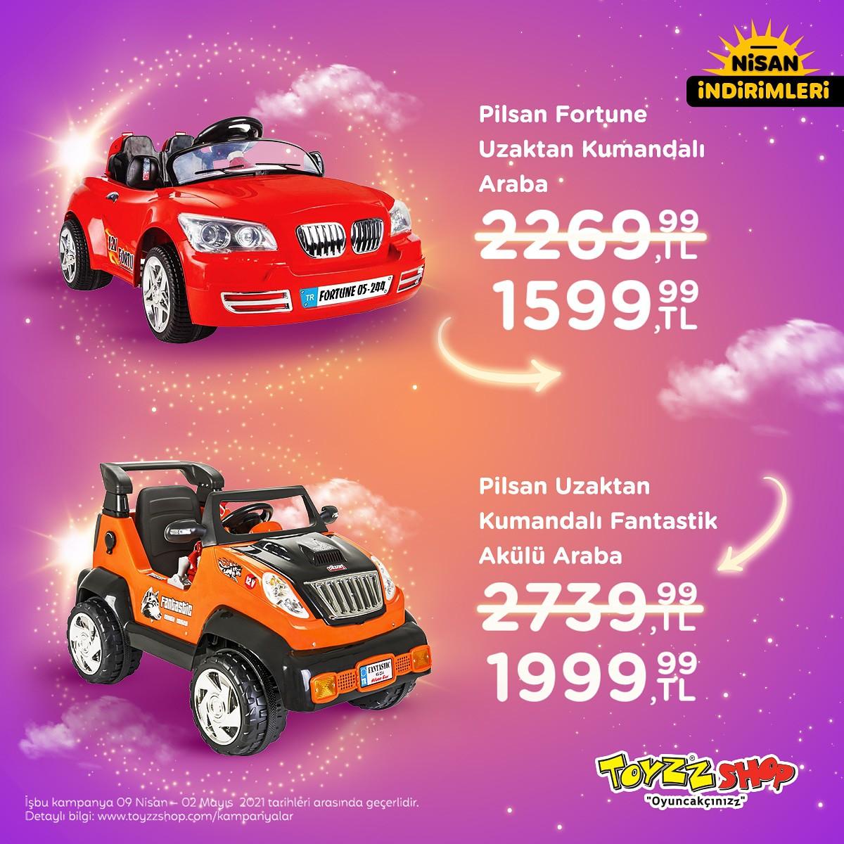 Toyzz Shop Uzaktan Kumandalı Arabalarda Büyük İndirim