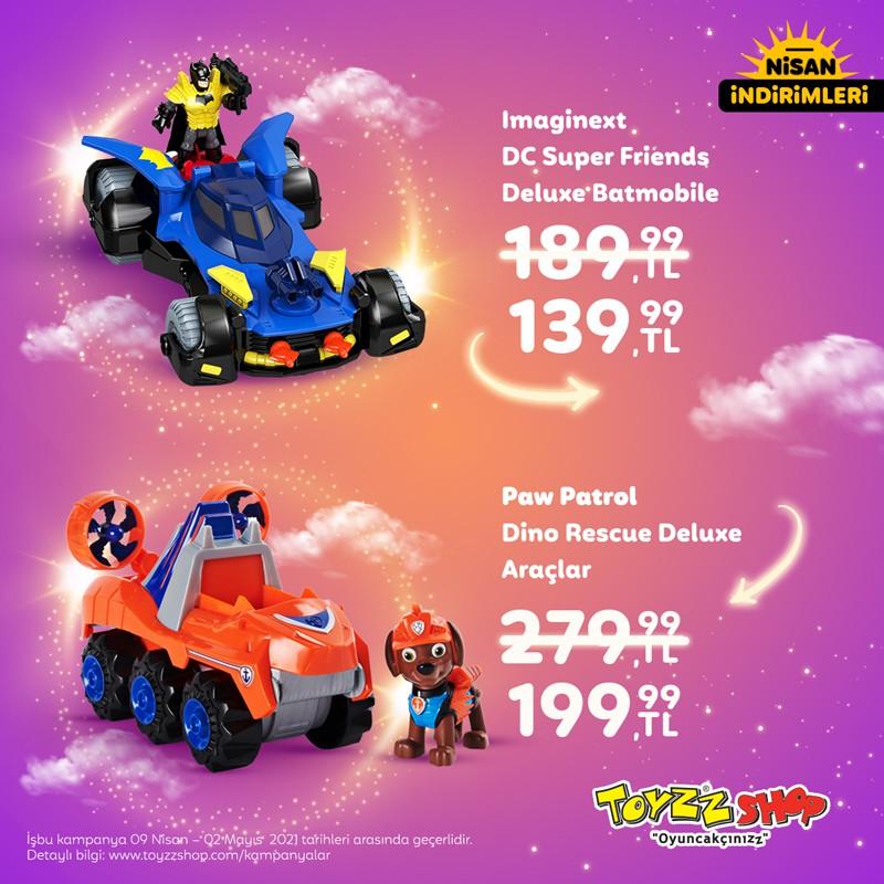 Toyzz Shop'ta 23 Nisan Çocuk Şenliği Başladı! Haydi, @toyzzshop'a!
