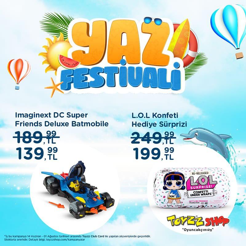 Toyzz Shop'ta Yaz Festivali