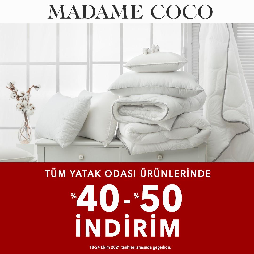 Tüm Yatak Odası Ürünlerinde %40-%50 İndirim