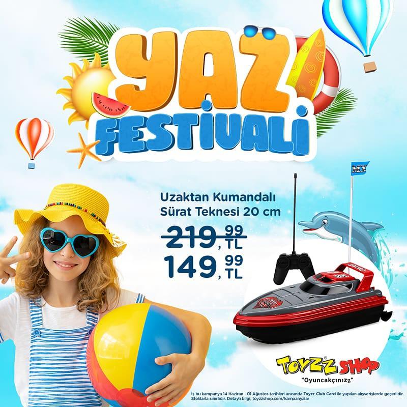Yaz Festivali Toyzz Shop'ta Başladı