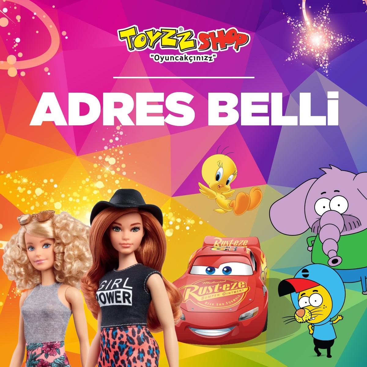 Yüzlerce oyuncak çeşidiyle çocuklar kadar büyüklerinde, neşe ve eğlencede #adresbelli #AntalyaMigros AVM #Toyzzshop!